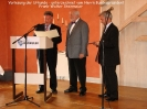 Ordensaushändigung - Verdienstkreuz am Bande an K.P. Rodenbusch